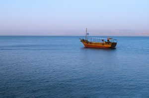 The recent earthquake swarm in Israel occurred underneath the Sea of Galilee, just north of the Dead Sea.