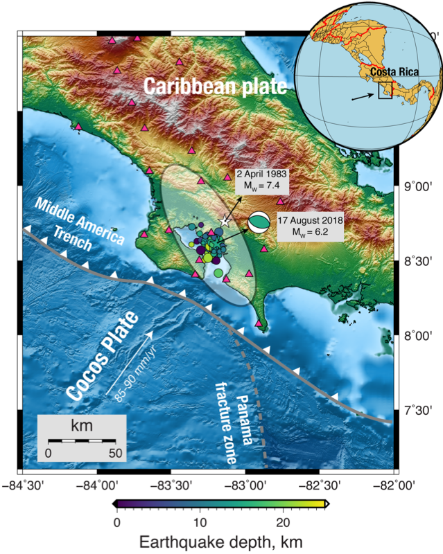 Chasing The Next Big Earthquake In Costa Rica Temblor Net