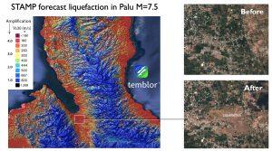 STAMP and Palu quake liquefaction
