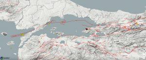 Son bir haftada olmuş 3 büyüklüğünden büyük depremler