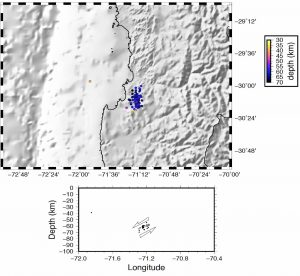 chile_seismicity_map_xsec_raul_madriaga