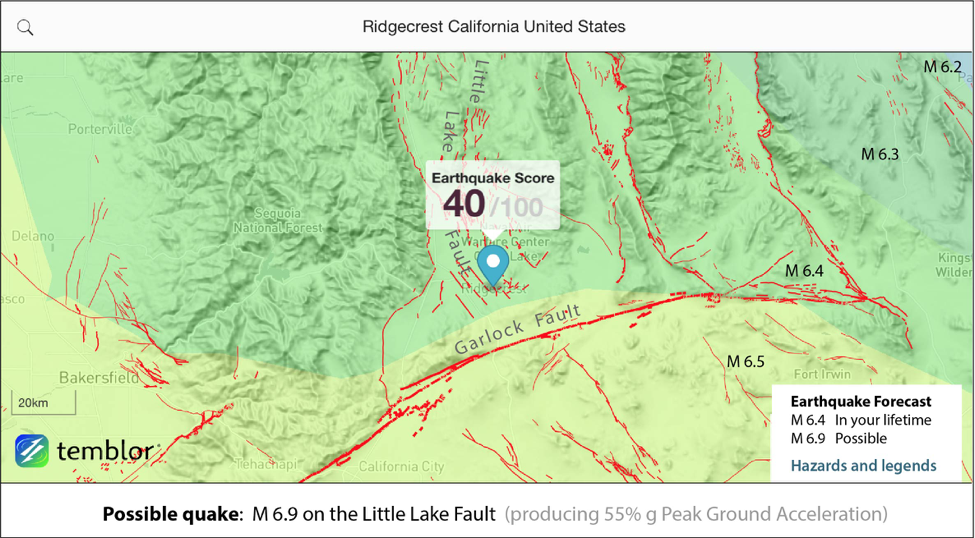 The Ridgecrest earthquakes: Torn ground, nested foreshocks