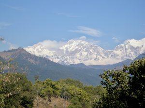 Himalayas near Gorkha
