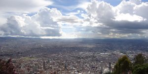 Bogotá, Colombia, the capital and largest city in the country, was shaken on Christmas Eve by a magnitude-6.2 temblor. Credit: Ian Barbour, CC BY-SA 2.0