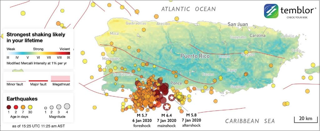 Puerto Rico\'s Seismic Sequence Leaves the Island On Edge ...