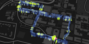 The fiber-optic loop beneath Stanford University. Image Credit: Stamen Design and the Victoria & Albert Museum (CC BY 4.0)