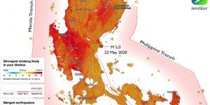 M 5.0 quake in Philippines