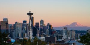 The Seattle skyline. Credit: CommunistSquared