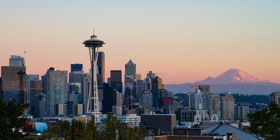 The Seattle skyline. Credit: CommunistSquared