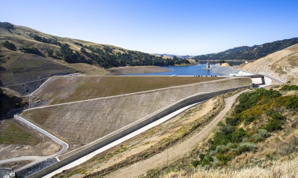 Completed-Calaveras-Dam