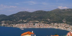 Photo of Samos coastline